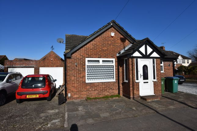 Thumbnail Detached bungalow to rent in High Road, Leavesden, Watford