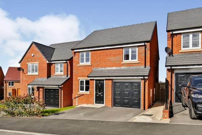 Thumbnail Detached house for sale in Hastings Close, Sherburn Hill, Durham