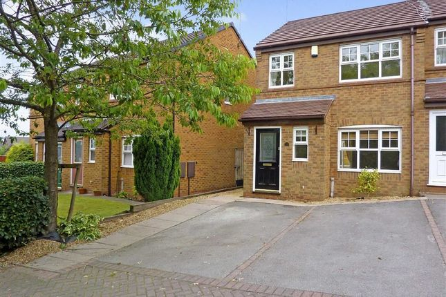 Thumbnail Town house to rent in Charlestown Grove, Longton, Stoke-On-Trent