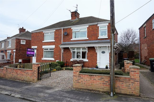 Thumbnail Semi-detached house for sale in Beech Crescent, Ferryhill
