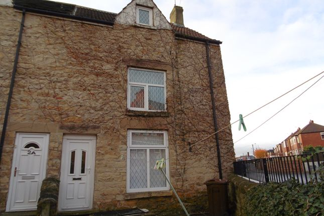 Thumbnail End terrace house to rent in Rose Cottages, South Elmsall
