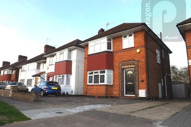 Thumbnail Detached house to rent in Cheyneys Avenue, Canons Park, Edgware