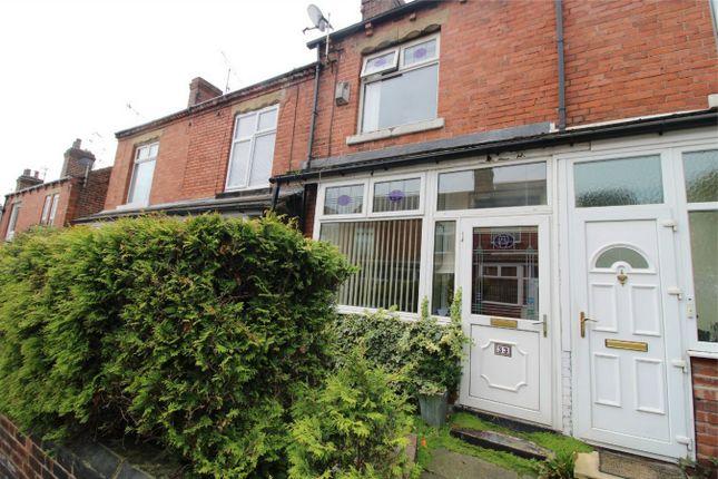 Terraced house in  King Street  Chapeltown  Sheffield  South Yorkshire  Sheffield