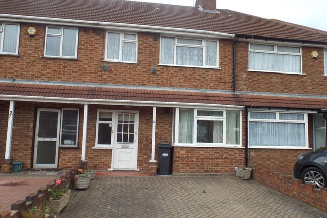 Thumbnail Terraced house to rent in Baber Drive, Feltham