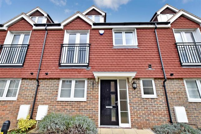 Thumbnail Terraced house for sale in Coventina Close, Shoreham-By-Sea, West Sussex