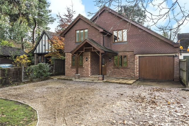 Thumbnail Detached house to rent in Nine Mile Ride, Finchampstead, Wokingham, Berkshire
