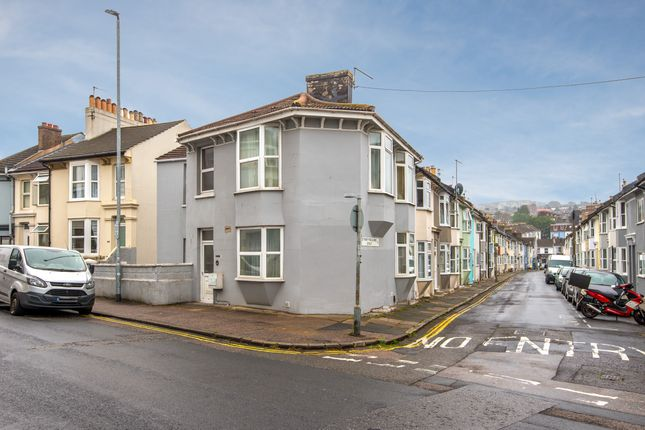 Thumbnail Terraced house to rent in Upper Lewes Road, Brighton
