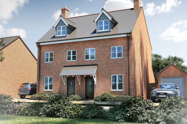 """Thumbnail Semi-detached house for sale in """"The Acton"""" at Pine Ridge, Lyme Regis"""