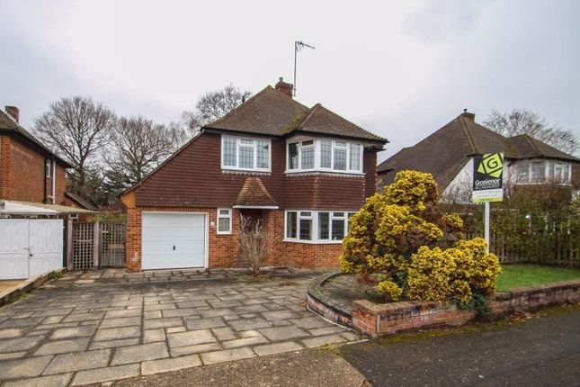 3 bed detached house for sale in Derwent Close, Claygate, Esher KT10