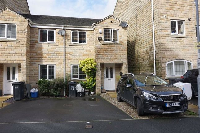 Thumbnail End terrace house for sale in Mill Stream Drive, Luddendenfoot, Halifax