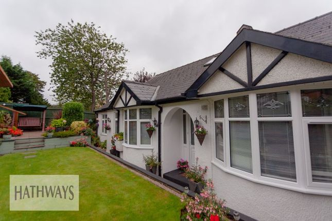 Thumbnail Bungalow for sale in Usk Road, Pontypool