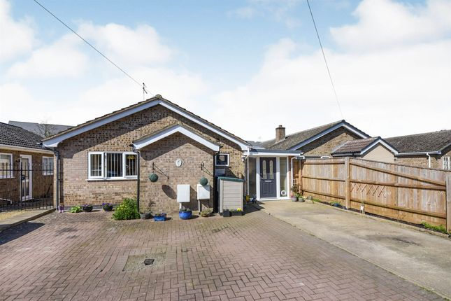 Thumbnail Detached bungalow for sale in Belvoir Close, Stamford