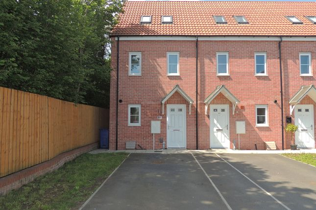 Thumbnail Town house to rent in Dominio Road, Doncaster