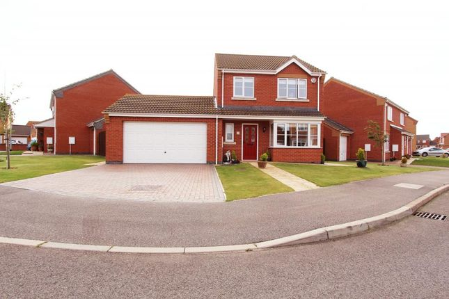 Thumbnail Detached house for sale in Jubilee Close, Cherry Willingham, Lincoln