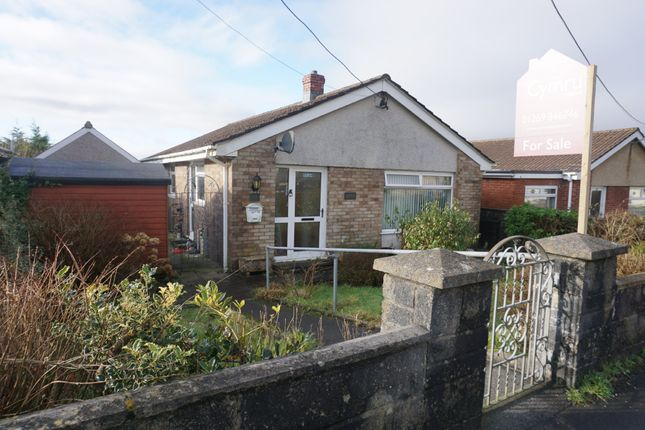 Thumbnail Detached bungalow for sale in Grove Hill Park, Gorslas, Llanelli