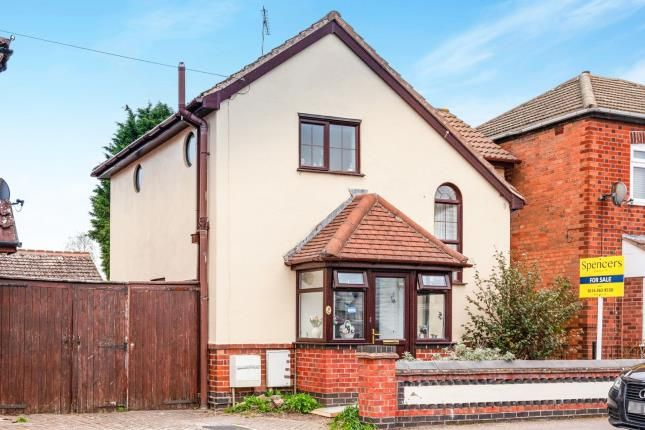 Thumbnail 2 bed detached house for sale in Central Avenue, Syston, Leicester, Leicestershire