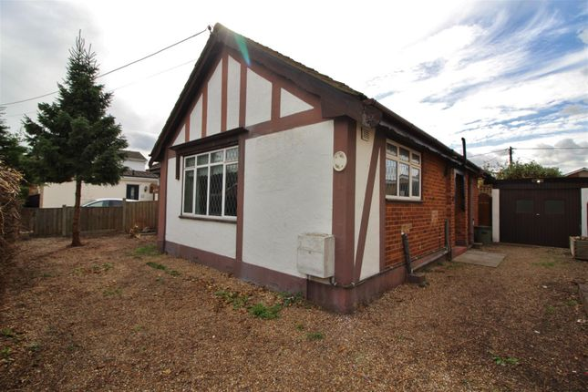 Thumbnail Detached bungalow for sale in Bardenville Road, Canvey Island