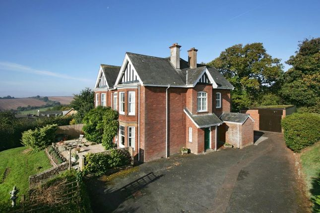 Thumbnail Detached house for sale in Alexandra Road, Crediton, Devon