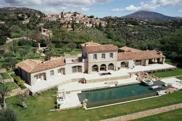 Thumbnail Country house for sale in Châteauneuf De Grasse, Near Cannes, French Riviera, 06740