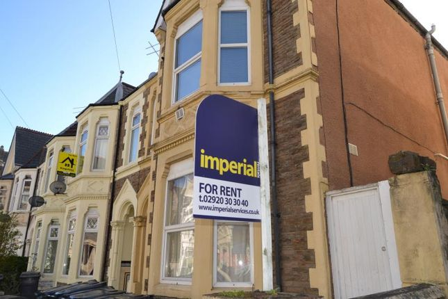 Thumbnail Flat to rent in 71, Claude Road, Roath, Cardiff, South Wales