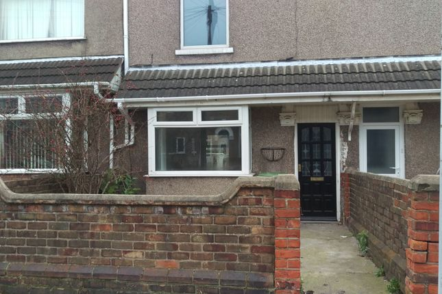 Thumbnail Terraced house to rent in Park Street, Grimsby