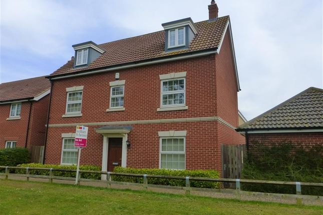 Thumbnail Detached house to rent in Hazel Walk, Red Lodge, Bury St. Edmunds