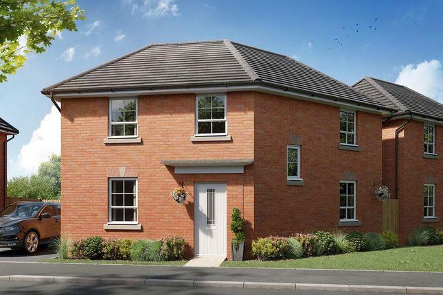"Thumbnail Detached house for sale in ""Lutterworth"" at Watling Street, Little Brickhill, Milton Keynes"