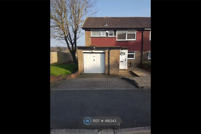 Thumbnail End terrace house to rent in Ryarsh Cresent, Orpington