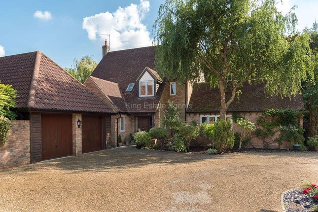 Thumbnail Detached house for sale in Oakhill Close, Shenley Church End, Milton Keynes, Buckinghamshire