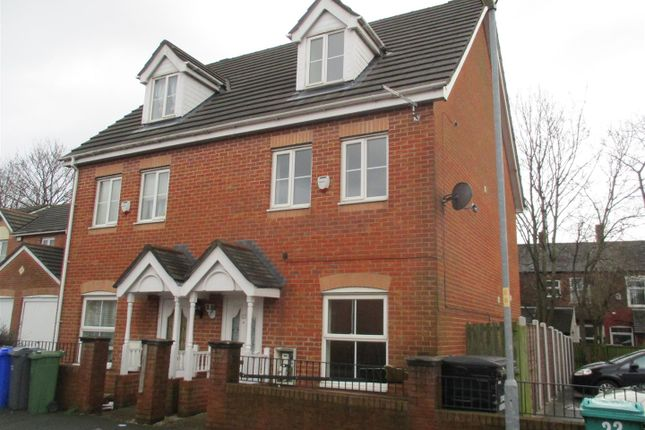 Thumbnail Semi-detached house to rent in Nepaul Road, Blackley, Manchester