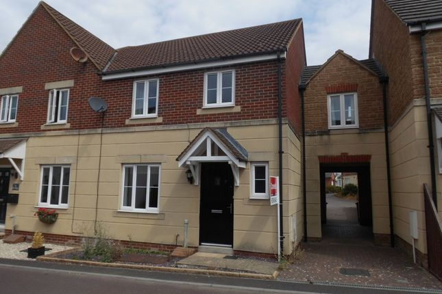 Thumbnail Semi-detached house to rent in Jay Walk, Gillingham