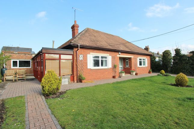 Thumbnail Detached bungalow for sale in Baydon Road, Lambourn, Hungerford