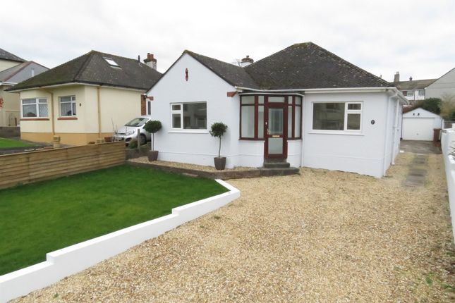 Thumbnail Detached bungalow for sale in Peeks Avenue, Plymstock, Plymouth