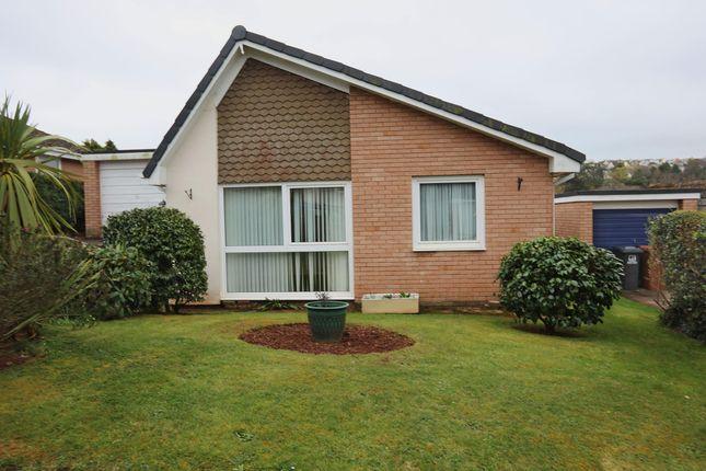 Thumbnail Detached bungalow for sale in Meadow Park, Marldon, Paignton