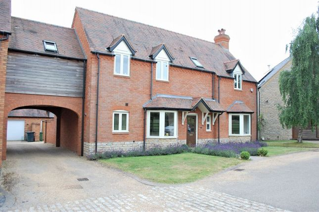Thumbnail Link-detached house to rent in Church Fields, Wixford, Alcester