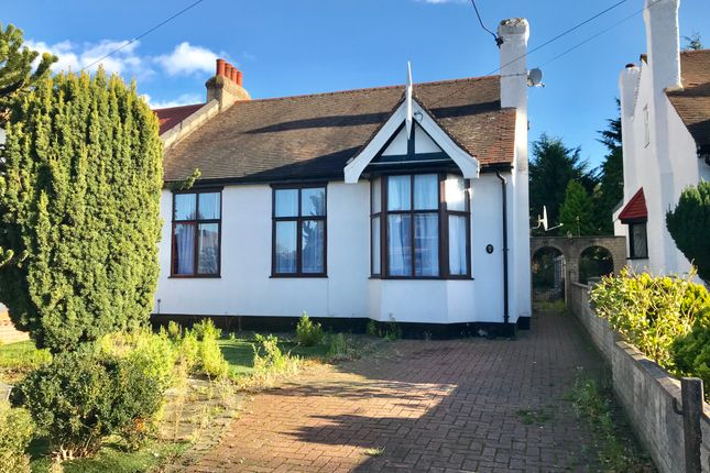 Thumbnail Semi-detached bungalow to rent in Meadway, Seven Kings, Essex
