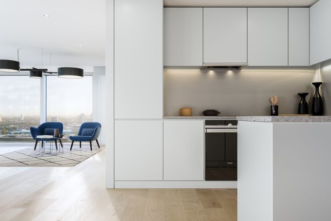 1 Bed Flat For Sale In Upper Riverside Peninsula Square