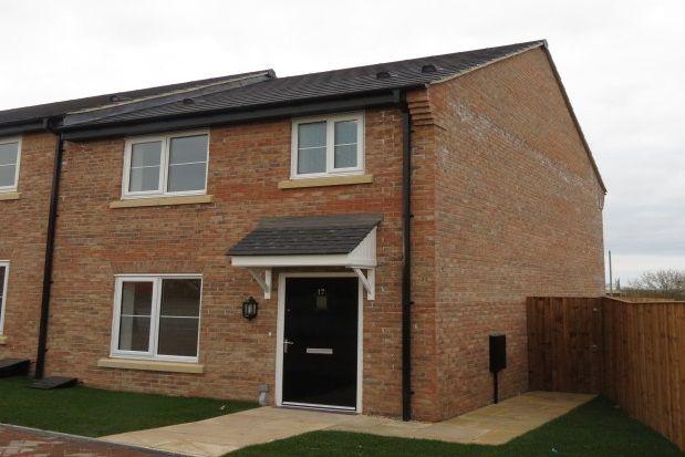 Thumbnail Semi-detached house to rent in Plough Lane, Malton