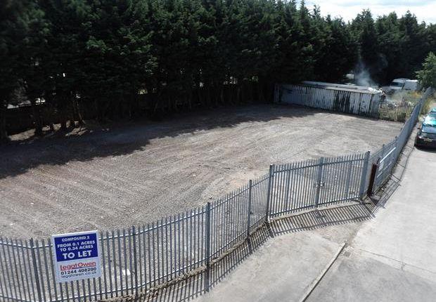Thumbnail Land to let in Compound 2, Glendale Avenue, Sandycroft, Flintshire