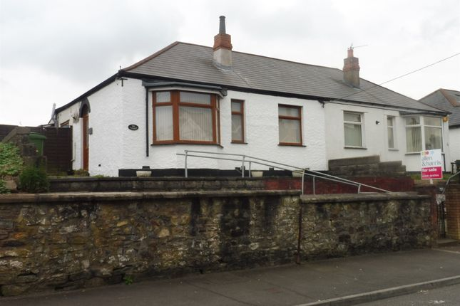 Thumbnail Semi-detached bungalow for sale in Church Road, Rumney, Cardiff