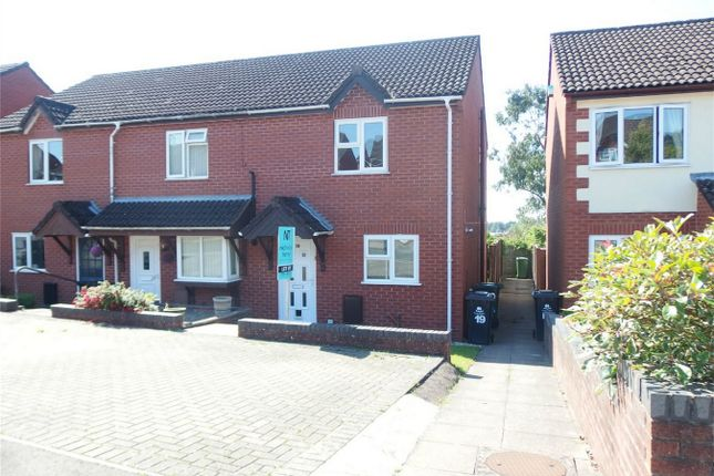Thumbnail Semi-detached house to rent in Oak Meadow, Lydney, Gloucestershire