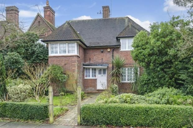 Thumbnail Detached house for sale in Wildwood Road, Hampstead Garden Suburb, London