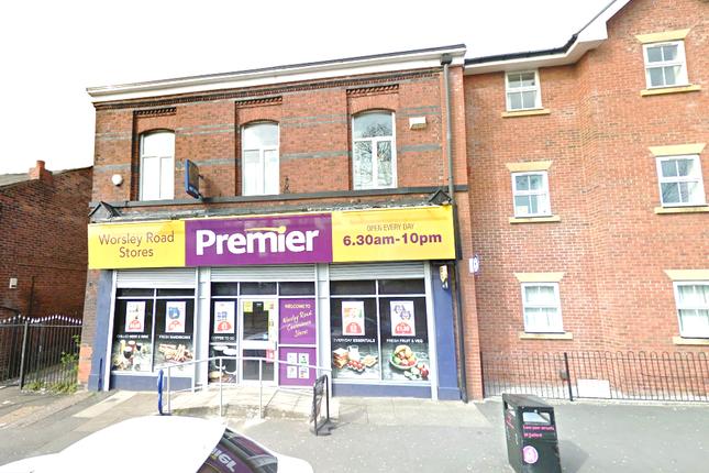 Thumbnail Retail premises for sale in Worsley Road, Swinton