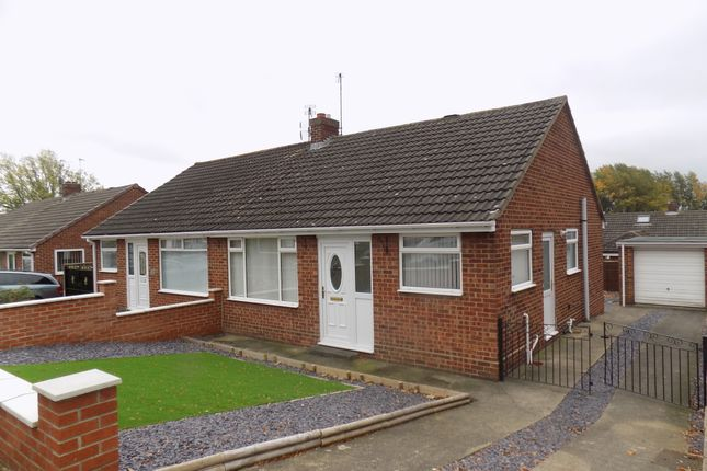 Thumbnail Semi-detached bungalow to rent in High Coniscliffe, Darlington