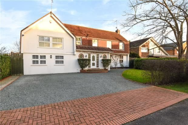 Thumbnail Detached house for sale in The Avenue, Wraysbury, Staines-Upon-Thames
