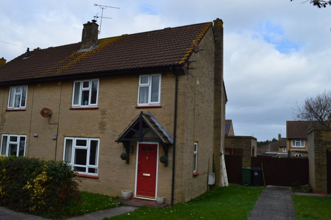 Thumbnail Semi-detached house to rent in Anson Road, Locking, Weston-Super-Mare