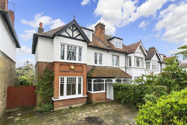 Thumbnail Semi-detached house for sale in Park Road, Hampton Hill, Hampton
