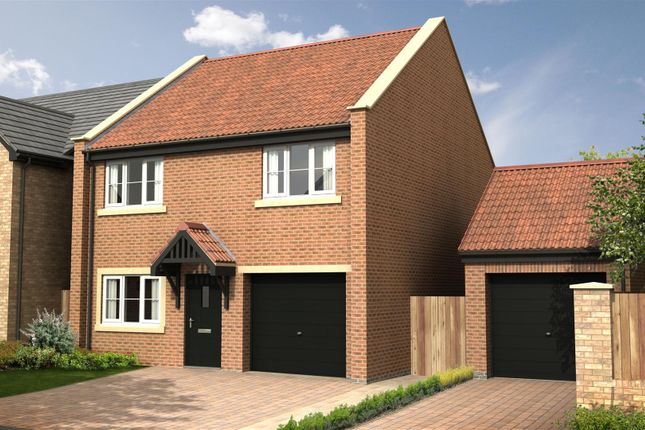 Thumbnail Detached house for sale in The Chestnut - Nursery Gardens, Station Road, Stannington