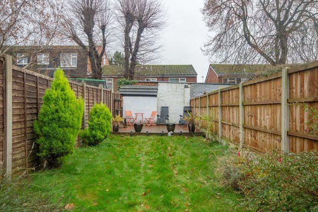 Garden At Back of Cambridge Street, Spondon, Derby DE21