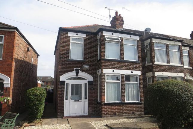 Thumbnail End terrace house for sale in Fairfax Avenue, Hull